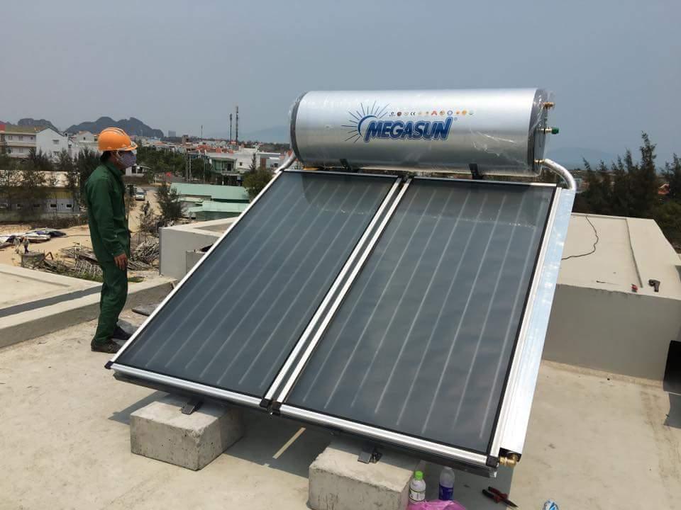 Máy nước nóng NLMT Tấm phẳng Megasun