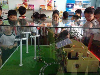 """Nhiều hứa hẹn của mô hình """"trường học xanh"""" tại trường Tiểu học Lương Thế Vinh-Q.1"""