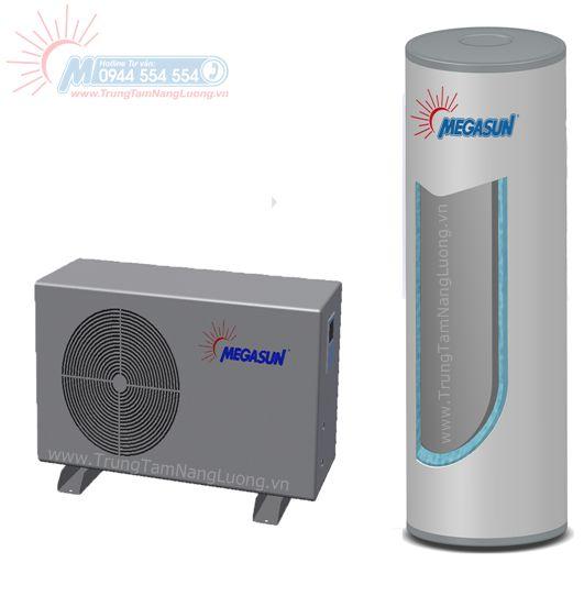 Máy nước nóng năng lượng không khí - bơm nhiệt dân dụng