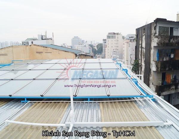 Công trình máy nước nóng tại KS Rạng Đông – TP. HCM
