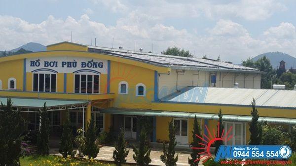 Dự án máy nước nóng năng lượng mặt trời Megasun tại Hồ bơi Phù Đổng – Đà Lạt