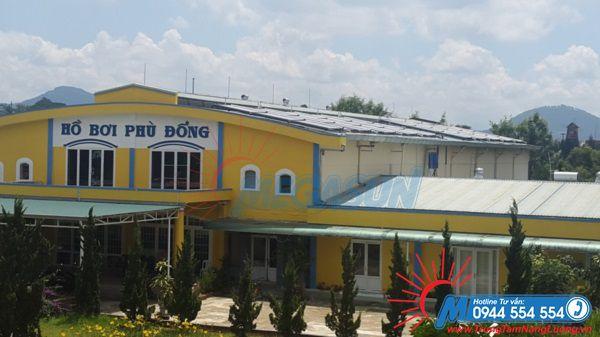 Dự án máy nước nóng năng lượng mặt trời Megasun tại Hồ bơi Phù Đổng - Đà Lạt
