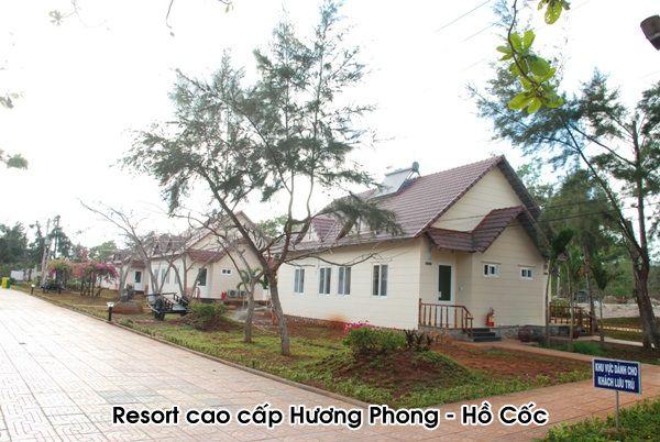 Hệ thống máy nước nóng năng lượng mặt trời tập trung tại Resort Cao cấp Hương Phong - Hồ Cốc, Vũng Tàu