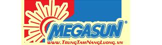 Logo trung tâm năng lượng mặt trời MEGASUN