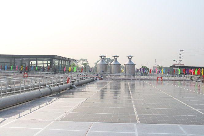 Toàn cảnh Nhà máy xử lý nước nước thải làng nghề Cầu Ngà