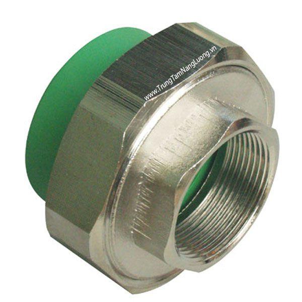 Rắc co đồng ren trong ống nhựa hàn nhiệt PPR MEGASUN