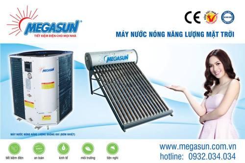máy nước nóng năng lượng mặt trời, bồn inox cao cấp, bình nước nóng lạnh, máy tấm phẳng, pin năng lượng