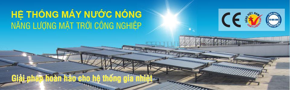 Máy nước nóng năng lượng mặt trời công nghiệp