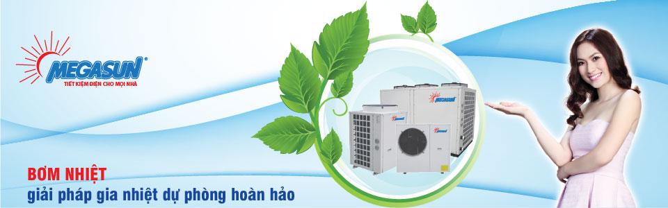 Máy nước nóng năng lượng không khí