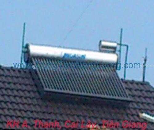 máy nước nóng năng lượng mặt trời, bồn inox cao cấp, bình nước nóng lạnh, máy tấm phẳng, pin năng lượng mặt trời, bình nước nóng