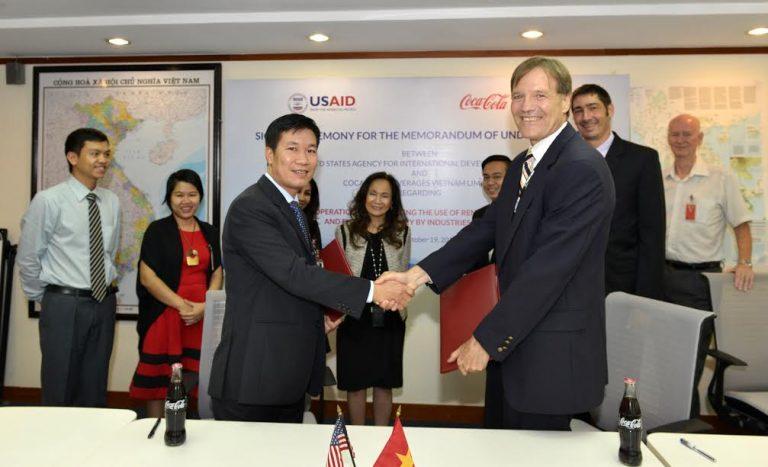 USAID và Coca-Cola thúc đẩy năng lượng tái tạo tại Việt Nam